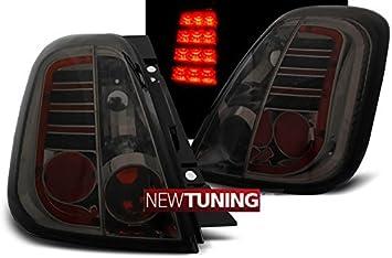 Fanali posteriori per Fiat 500 07 – Fumato LED: Amazon.it: Auto e Moto