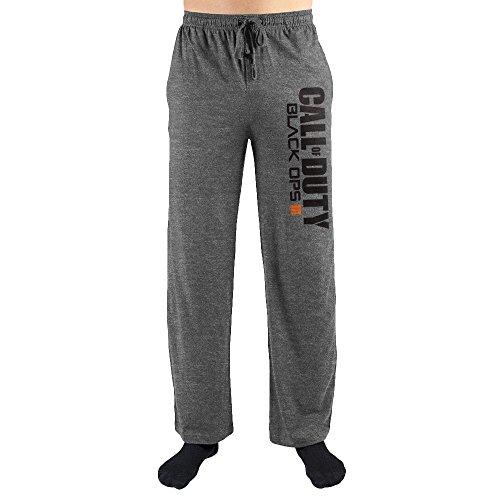 COD Call Of Duty BO Black Ops Print Men's Lounge PantsX-Large
