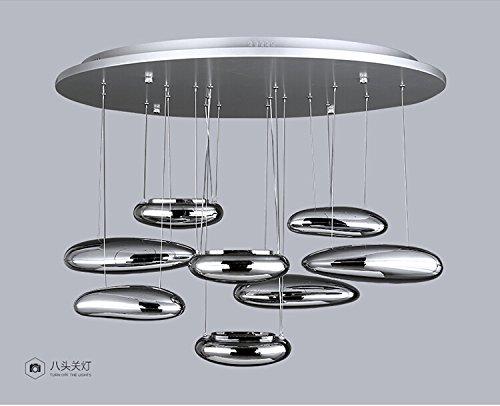 Lampadari Camera Da Letto Moderna : Quietness loft lampadario creativo paralumi personalità vetro