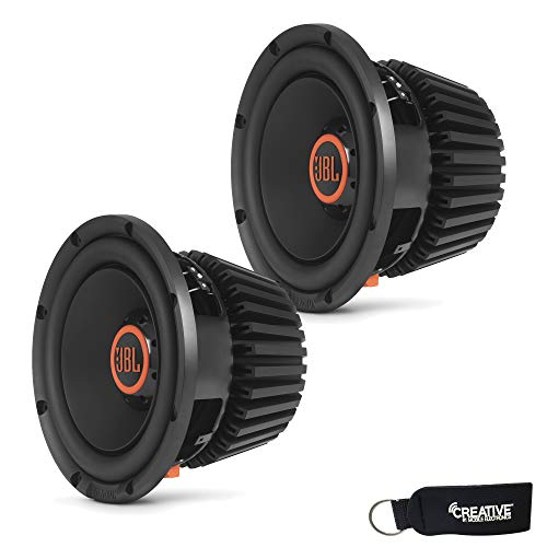 JBL - Two Stadium 1024 Stadium Series 10 Inch Subwoofers with SSI Selectable Impedance