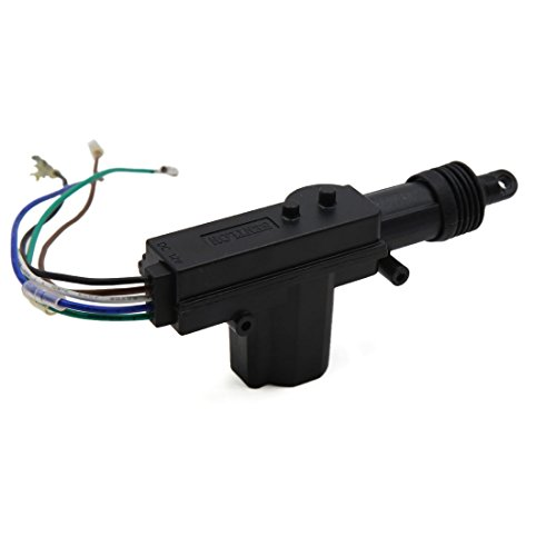 uxcell Black DC 12V 5 Wires Auto Car Door Lock Keyless Motor Central Locking System by uxcell (Image #1)