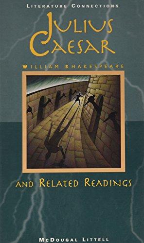 McDougal Littell Literature Connections: Julius Caesar Student Editon Grade 10 1996