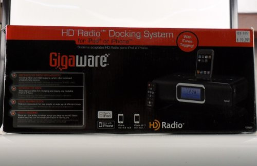 Gigaware HD Radio Docking System for iPod or iPhone