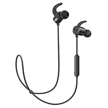 TaoTronics - Auriculares internos magnéticos e inalámbricos, con Bluetooth 4.1, 9 Horas de Tiempo