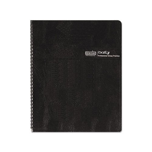 Bulk 2020 Group Practice Recycled Daily Planners, 4 Person: HOD282-02 (6 Planners)