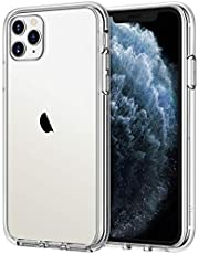 JETech Case for iPhone 11 Pro Max (2019) 6.5-Inch, Shock-Absorption Bumper Cover, Anti-Scratch Clear Back, HD Clear