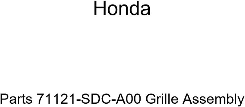 Genuine Honda Parts 71121-SDC-A00 Grille Assembly