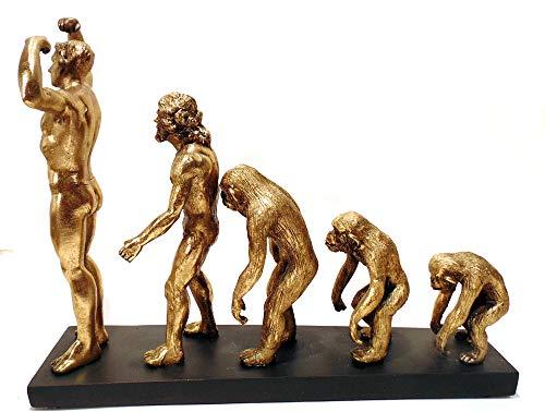Estatua Evolução Da Humanidade