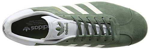 adidas Gazelle, Zapatillas para Hombre Varios colores (Trace Green  / Off White / Footwear White)