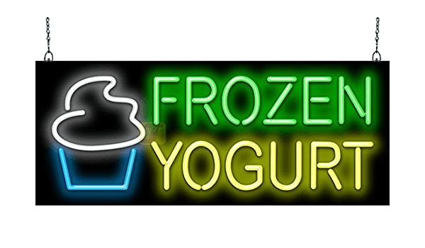 FROZEN YOGURT NOW OPEN Banner Sign NEW Larger Size Best Quality for the $$$