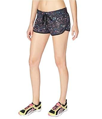 Aeropostale Womens Paint Splatter Running Athletic Workout Shorts 001 XS