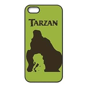 iPhone 5,5S Phone Case Black Tarzan AXF515725