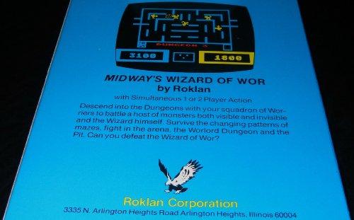 Wizard of Wor - Atari 400/800, Atari 600/800 XL / XE Game Cartridge for Atari 8-bit Computers
