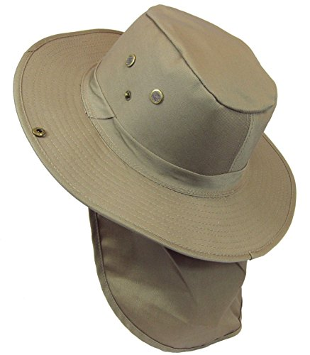 The Hat Jungle boonie Bucket Hat Neck Flap Tactical Wide Brim Outdoor Military - Boonie Jungle Hat