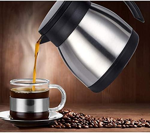 BWP Pentola Isolante ad Alta Capacità Pentola Isolante per Uso Domestico in Acciaio Inossidabile 304, Può Mettere Caffè, Acqua Calda, Porridge, Ecc. Capacità: 400 Ml,400Ml
