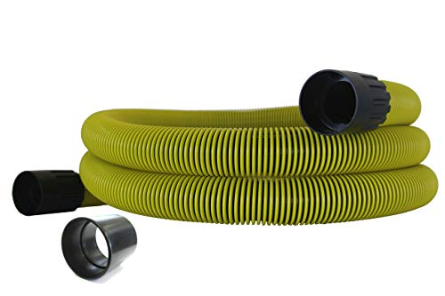 Vacuum Hepa Dustless - Universal Crush-Proof Wet Dry Vacuum Hose, 25 Foot