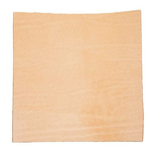 Import Tooling Leather 5-6oz Pre-Cut (12''x12) by Milton Sokol & Co.