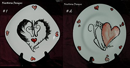 cg-stoneware-heart-design-plates-handcrafted-by-firehorse-designs-of-texas-choice-of-two-designs