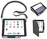 iPad Folio Carry Case with Shoulder Strap for 2018 6th Gen, 2017 5th Gen 9.7-inch iPad & Air 1 & 2 INNOVATIVECAREUSA.COM -Impact Resistant Professional Grade Rugged Durable iPad Case. Bulk order disc.