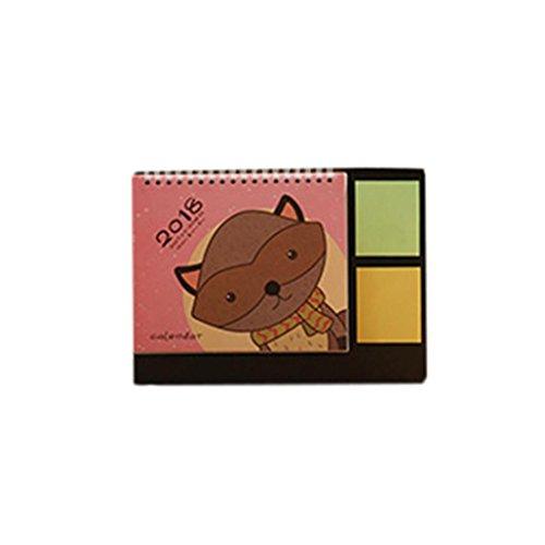 Wallpapers Cute Desktop Halloween (Euone 2018 Cute Cartoon Animal Desk Desktop Calendar Flip Stand Table Office Planner)