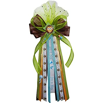 Amazon.com: Its a Boy Duck Baby Shower Ribbon Corsage: Toys ...