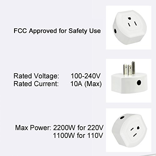 Martin Jerry Mini Wifi Smart Plug Works with Alexa, Google Home, Smart Home Devices to Control Home Appliance from Anywhere, no Hub Required, Wifi Smart Socket (V04) (1 Pack) by Martin Jerry (Image #5)