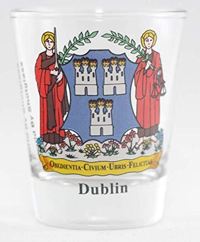 - Dublin Ireland Coat Of Arms Shot Glass