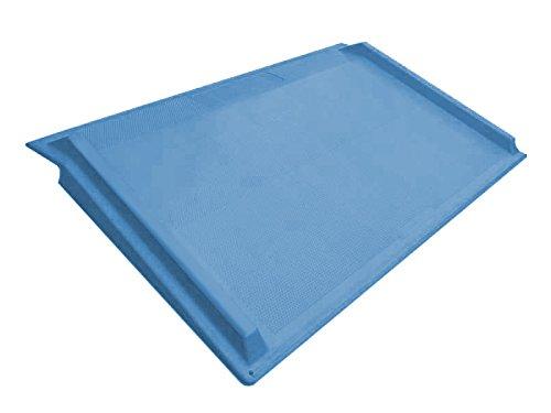 The Workplace Depot Blue Plastic Kerb Ramp 1180(W) x 700(L) mm