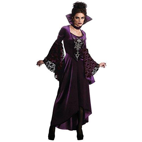 GSG Violet Vamp Costume Adult Halloween Fancy (Pop Tart Halloween Costume)