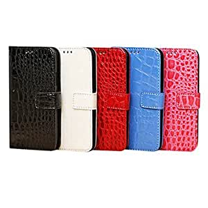 Buy PU Flip Wallet Cover With Card Holder Stand For Samsung I9500 S4 31 , Red