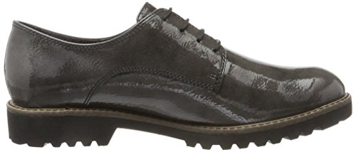 Gris Zapatos Mujer 23214 Tamaris Oxford Pat Anthracite Para P4dqwppx TBnwq1z