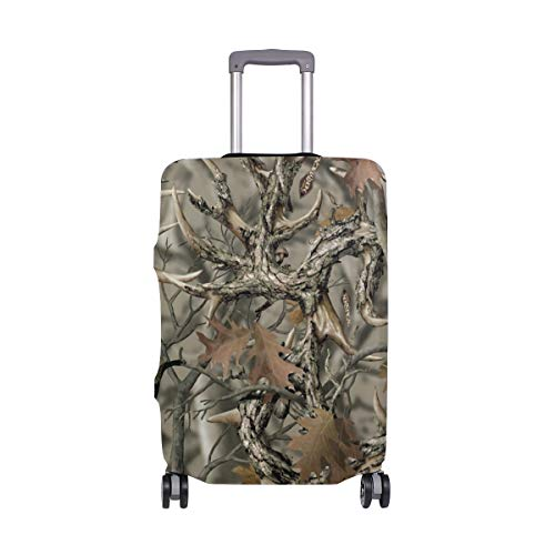 Realtree Camo Travel Luggage Cover Suitcase Protector Fits 22-24 Inch Luggage