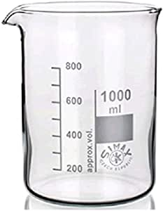 الزجاج بيكر 500 مل - العلامة التجارية سائيمكس