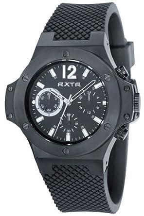 LTD Watch Unisex-Armbanduhr Chronograph Quarz Schwarz LTD-310201