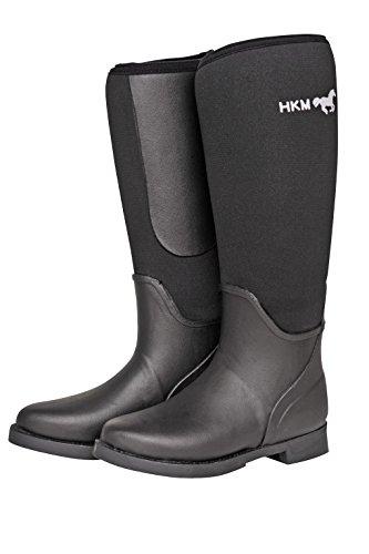 HKM bottes en néoprène -Atlanta- 40 Noir