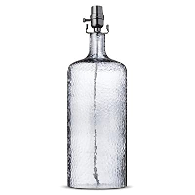 Glass Bottle Lamp Base Large - Indigo - ThresholdTM