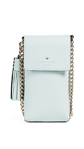 Kate Spade New York Women's North South Cross Body Phone Case, Mint, One Size by Kate Spade New York