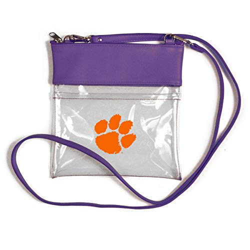 Desden Clemson Tigers Clear Gameday Crossbody Bag