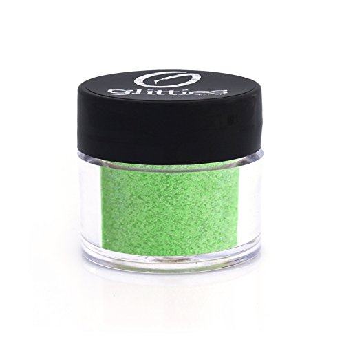 Tinkerbell Glitter Tattoo Kit (Tinker Bell Green - Bright Iridescent Green Fine Glitter Powder .008