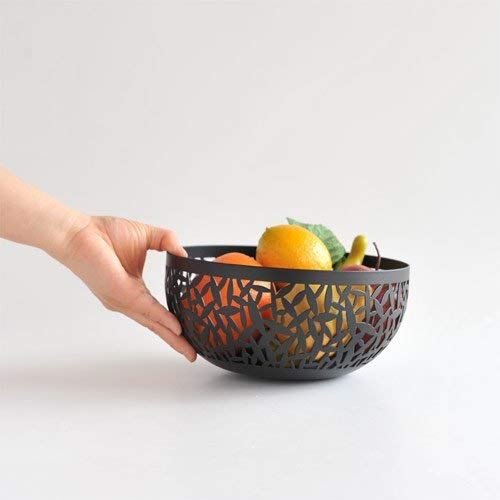 Alessi MSA04/21 B''CACTUS!'' Fruit Holder in Steel Coloured With Epoxy Resin, Black by Alessi (Image #4)