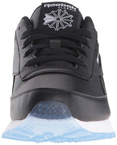 Reebok Mens Classic Renaissance Ice Fashion Sneaker Nero / Bianco / A Ghiaccio