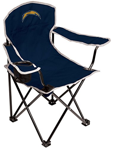 NFL San Diego Chargers Youth Coleman Folding Chair, (San Diego Chargers Collapsible)