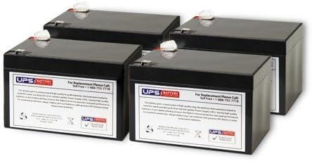 Minuteman Pro 2200r Replacement Battery Set