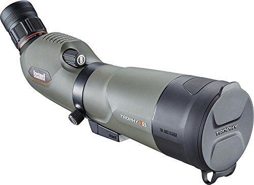Bushnell Trophy Xtreme Spotting Scope with 45 Degree Eyepiece, 20-60x65mm, Green by Bushnell