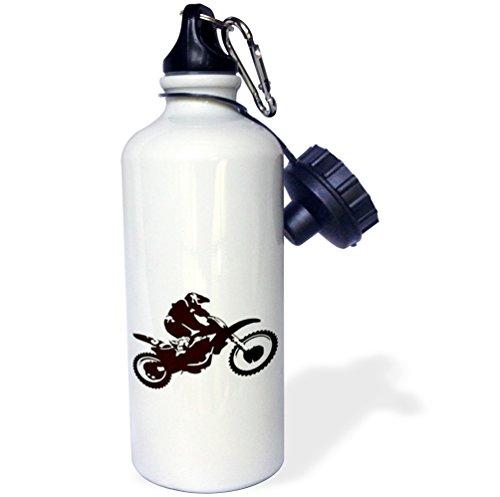 3dRose wb_79141_1 Its A Wonderful Life Inspirational Sayings Sports Water Bottle, 21 oz, White