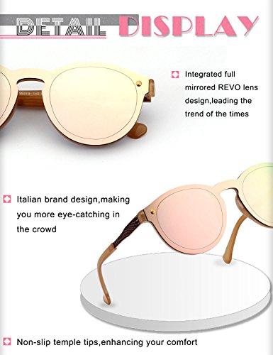 jante de Lunettes MEO5 Rose GQUEEN Miroir de Or soleil Futuriste Lens bouclier sans wAnU8Xq