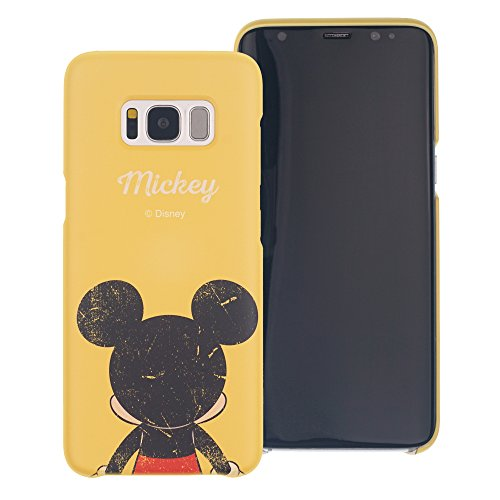Galaxy S7 Edge Case [Slim Fit] Cute Mickey Mouse Scratch Resistant Thin Hard / SF Coated Non Slip Matte Surface for Excellent Grip Cover for [ Samsung Galaxy S7 Edge ] Case - Mickey Mouse Back