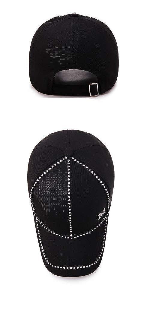 Lady Version of Fashion Baseball Cap with Standard Spring and Summer Satin Drill Shading Adjustable Baseball Cap