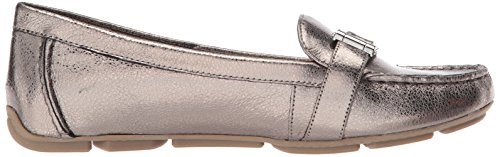 Leather Women's Klein Sport Loafer Petra Anne Pewter Flat Leather AK zdt7xRwq