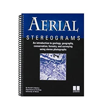 """American Educational Aerial Stereo Photographs Individual Book, 8-1/2"""" Length x 11"""" Height"""